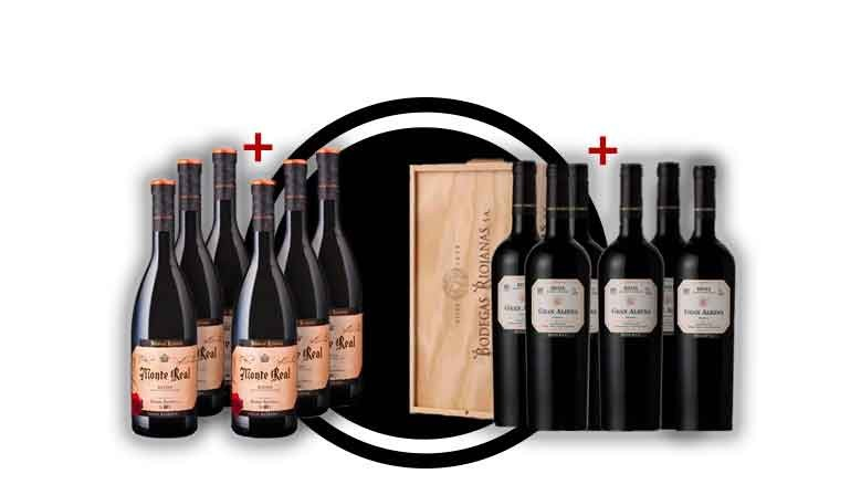Descuento del 50% en las cajas de vino