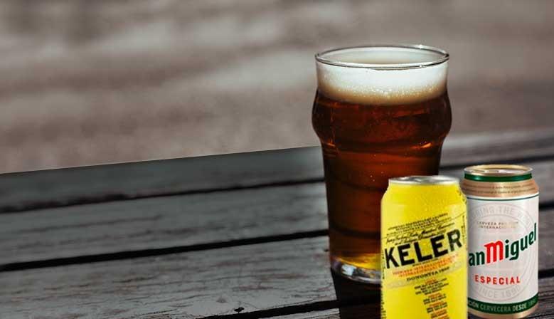 Nuevas latas de cerveza marcas del mercado