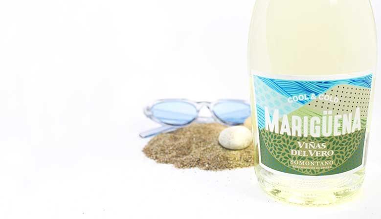 Vino blanco Mariguena de Viñas del Vero