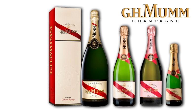 Botellas Champagne Mumm
