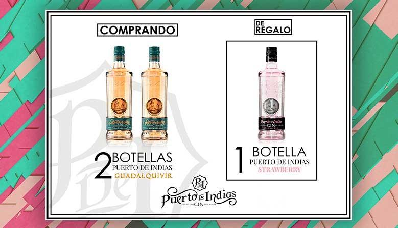 Nueva ginebra Puerto de Indias Guadalquivir en promoción.