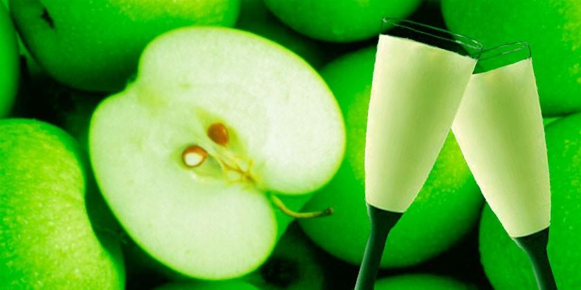 Receta de sorbete de manzana a la sidra - Sorbete de manzana verde ...