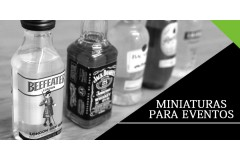Qué mini botellitas de licor regalar en eventos
